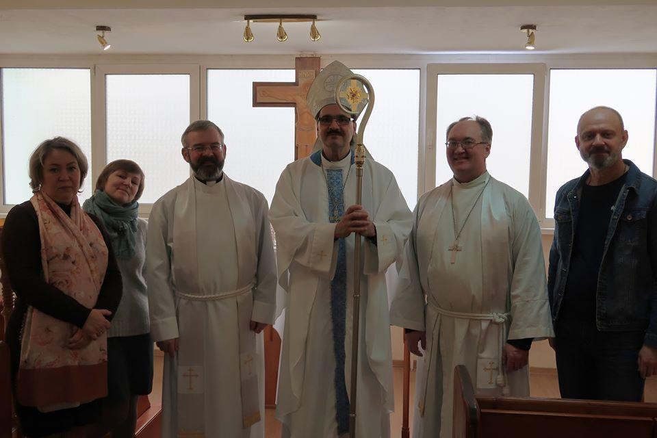 Bishop Vsevolod Lytkin in Yekaterinburg